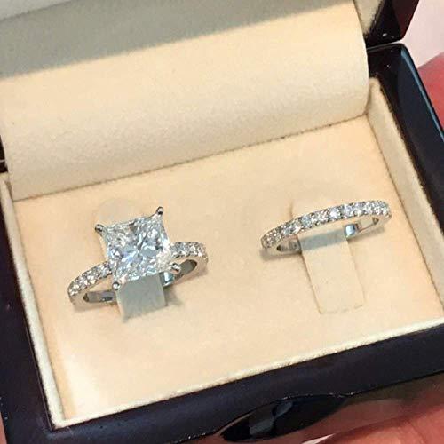 princess cut engagement rings - 3