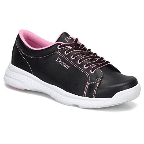 Dexter Womens Raquel V Bowling Shoes- Black/Pink, 12
