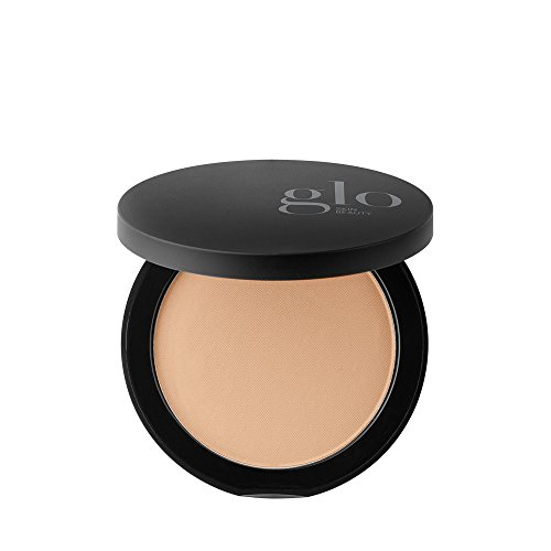Glo Skin Beauty Pressed Base - Honey Light | Mineral Pressed Powder Foundation | 24 Shades, Buildable Coverage, Matte Finish (Best Light Foundation For Sensitive Skin)