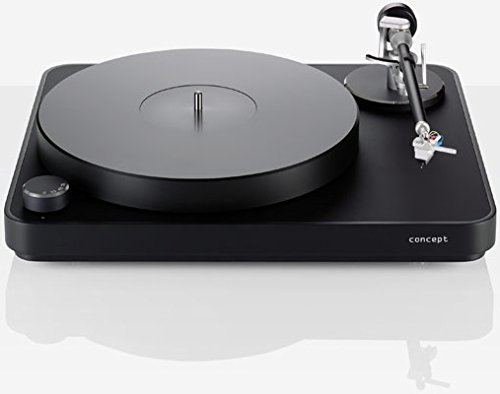 Clearaudio Concept Black Turntable with Concept MM V2 Cartridge by Clearaudio