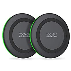 Yootech [2 Pack] Wireless Charger Qi-Cer...