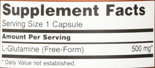 Now Foods, L Glutamine 500 mg Free Form