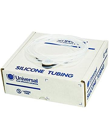 Tubo de silicona, no estéril, caja de 15 m de longitud continua