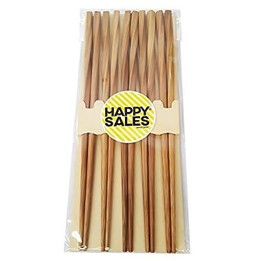 Happy Sales HSCH24/S, 5 pairs Japanese chopsticks gift sets Twist