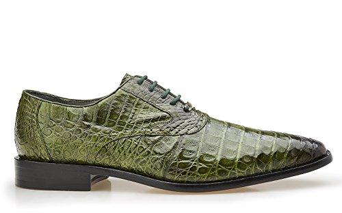 Belvedere Edo Genuine Crocodile Oxford Shoe 11.5 ()