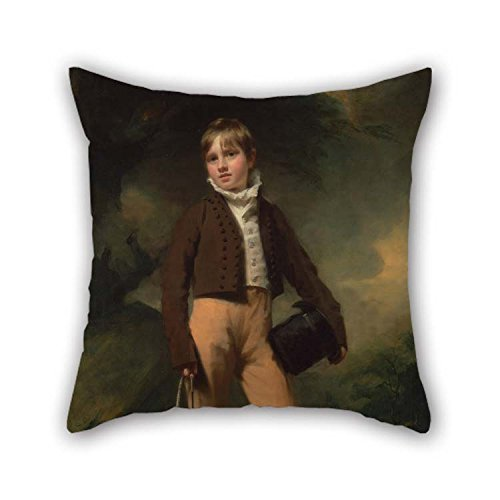 eyeselect Oil Painting Henry Raeburn - Quentin McAdam Throw Pillow Case Best for Valentine Car Seat Father Relatives Girls Car 20 X 20 Inches / 50 by 50 cm(Twice Sides) ()