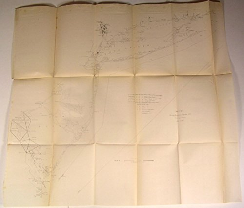 Cs Chart (Long Island NY New Jersey Delaware Bay nice 1851 U.S.C.S. Nautical chart old map)