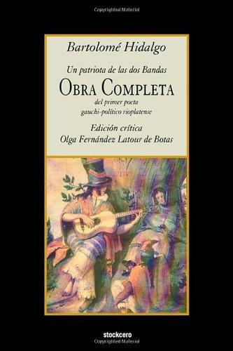 Download Bartolomé Hidalgo - Obra Completa (Spanish Edition) pdf epub