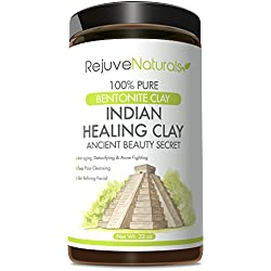 Sodium Bentonite Indian Healing Clay, 32 oz