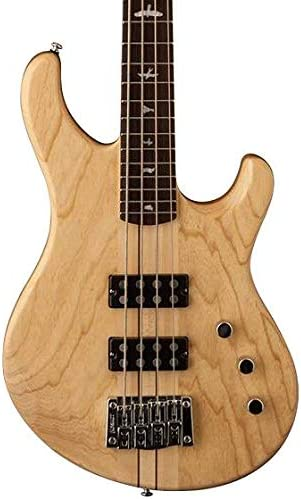 PRS Paul Reed Smith SE Kingfisher 4-String Bass Guitar with Gig Bag, Natural