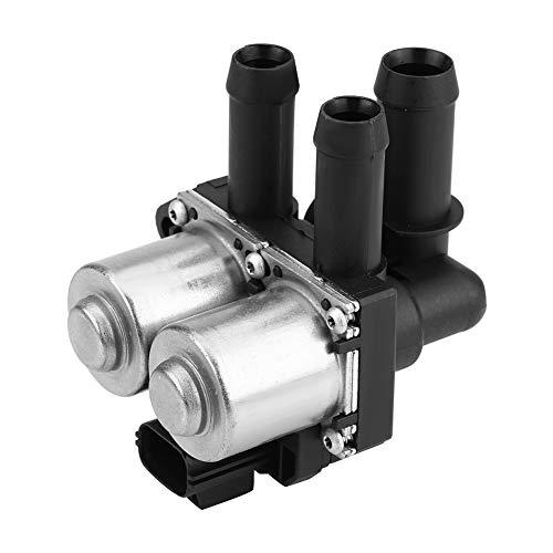 Jinxuny Heater Control Valve Black XR840091 Car Heater Control Valve Solenoid Water Valve for Ja-guar S-Type 2003-2008 ()