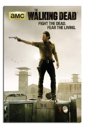 The Walking Dead - Jailhouse Poster 24 x 36in with Poster Ha