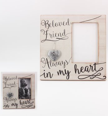 Wood 4X6 Memorial Picture Frame