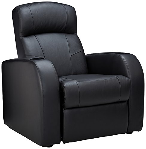Coaster Home Furnishings Cyrus Home Theater Upholstered Recliner Black
