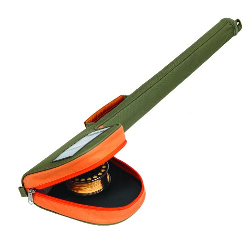 Allen Company Fly Rod Case (For Up To 9-Feet Two  Piece Rod with Reel Attached), Outdoor Stuffs