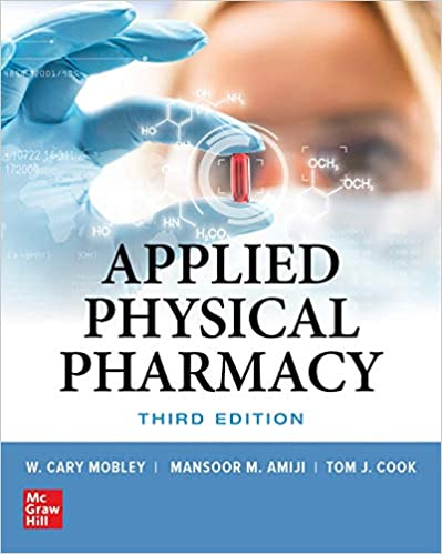 Applied Physical Pharmacy, Third Edition - Original PDF