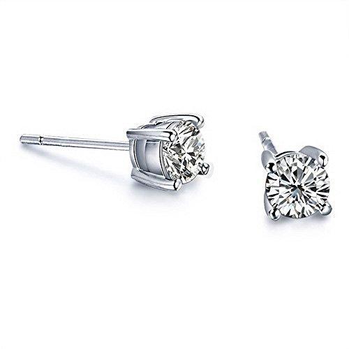 14ct-tw-Diamond-Stud-Earring-in-14k-White-Gold
