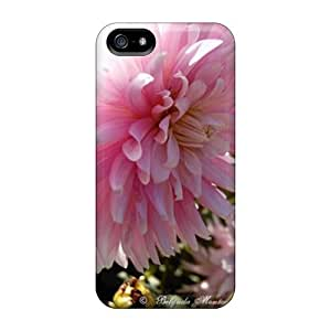 Iphone 5/5s Case Bumper Tpu Skin Cover For Pink Blooms Accessories
