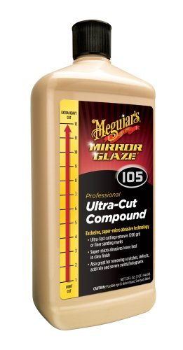 (Meguiar's M105 Mirror Glaze Ultra-Cut Compound - 32 oz. by Meguiar's)