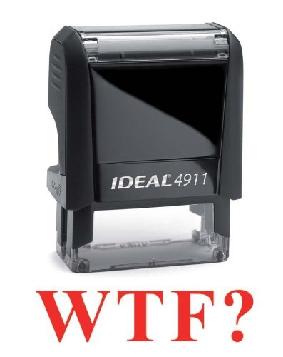 SCANNED - Trodat 4911 (Ideal 50) rot Self-Inking Rubber Rubber Rubber Stamp by Imprue cff46d