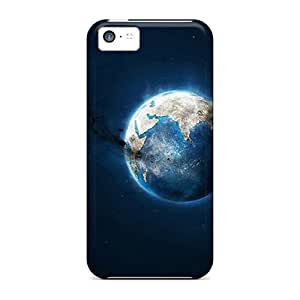Protection Cases For Iphone 5c / Cases Covers For Iphone(crumbling Moon)