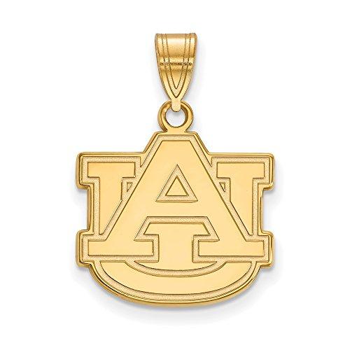Auburn Medium (5/8 Inch) Pendant (Gold Plated)