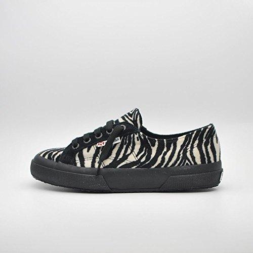 Donna Superga scarpe 2750 fabricwzebra s0080w0