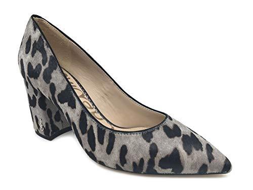 Clouded Sam Women's Edelman Pump Leopard Grey Tatiana XPXvq7r