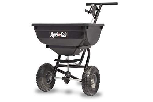 Agri-Fab 45-0532 Pro Push Spreader, 85 lb, Black (Best Push Fertilizer Spreader)