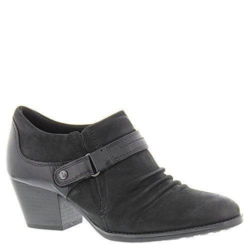 Earth Women's Angel Bootie,Black Vintage Leather,US 8.5 M (Earth Leather)
