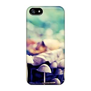 Fashionable Style Case Cover Skin For Iphone 5/5s- Tiny Mushrooms