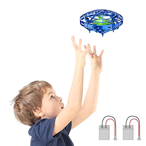 STREET WALK Hand Operated Drones for Kids or Adults - Easy Indoor Small Orb Flying Ball Drone Toys for Boys or Girls,Scoot Hands Free Mini Drone -