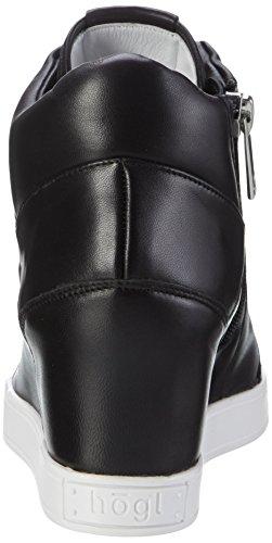 Högl 3-10 5310 0100, Zapatillas Altas para Mujer Negro (schwarz0100)