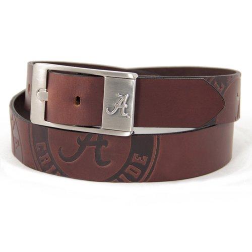 NCAA Alabama Crimson Tide Brandish Leather Belt - Brown (40) ()