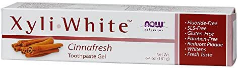 Now Xyliwhite Cinnafresh Toothpaste Gel 6.4 Ounces, (Pack of 2)