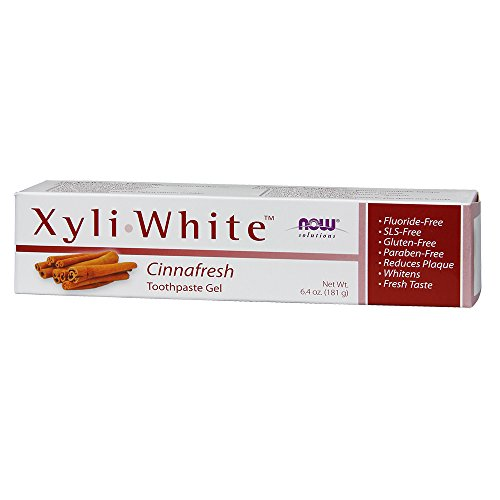 NOW Xyliwhite Cinnafresh Toothpaste Gel 6.4 Ounces.,  (Pack of 2)