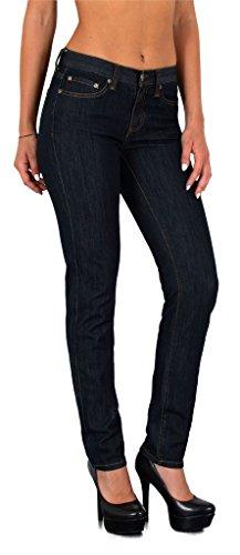 by-tex Jean Femme Skinny High Waist Jeans Femmes Taille Haute Pantalon Grande Taille 48, 50, 52# S200 J109