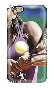 Flexible Tpu Back Case Cover For Iphone 6 - Serena Williams Tennis