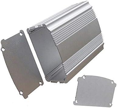BE-TOOL Caja de aluminio para proyectos, (XD-80) caja de aluminio ...