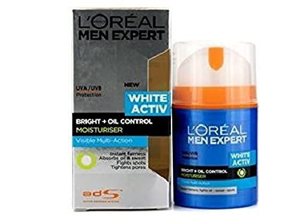 Loreal Men Expert White Active Oil Control Moisturizer : 50ml ...