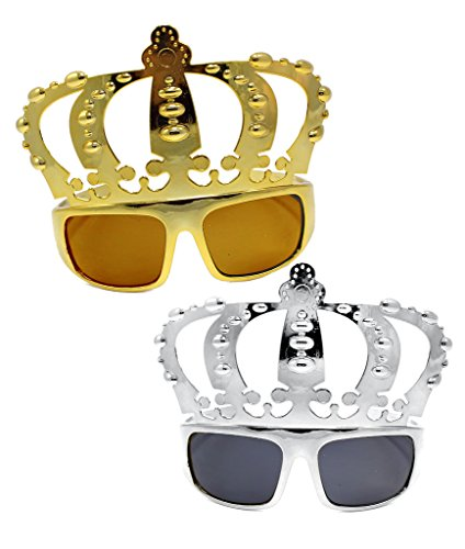 Fun Central (AT798) Crown Sunglasses - Assorted 12ct -