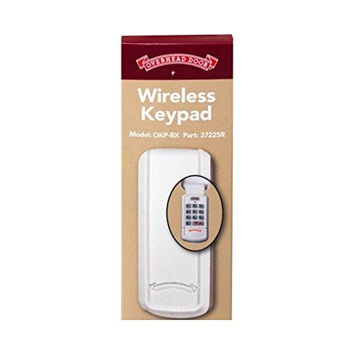 Overhead Door - Wireless Garage Door Opener Keypad - Weather-Resistant - OKP-BX - White,1 Pack by Overhead Door (Image #3)
