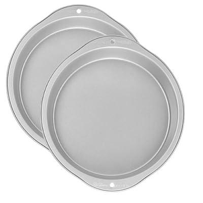 Wilton Recipe Right 2 Piece Round Pan Set, 9-Inch