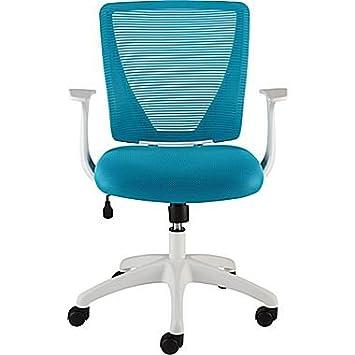 white frame office chair. Staples Vexa Mesh Chair (Teal With White Frame) Frame Office E