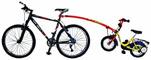 Trail-Gator Tow Bar East - Varilla para bicicleta, color rojo