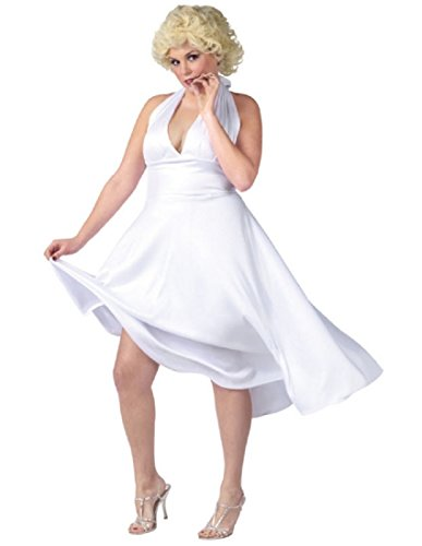 [Marilyn Monroe Deluxe Adult Costume Size Plus (16W-22W)] (Marilyn Monroe Deluxe Adult Costumes)