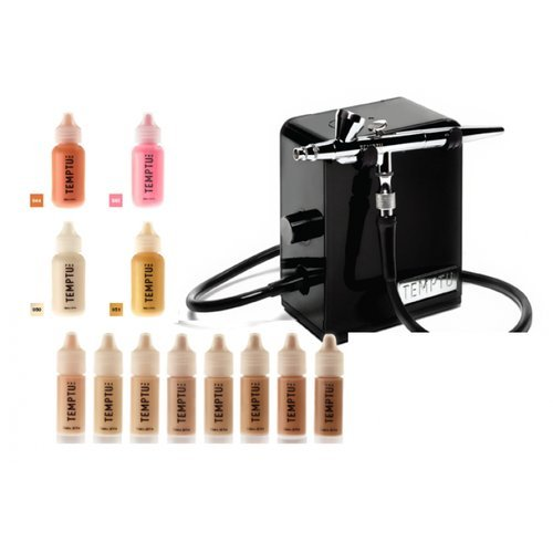 Temptu 2.0 Premier Airbrush Makeup Kit (Black)
