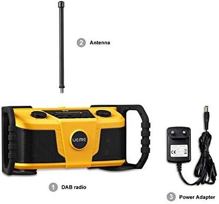 Ueme Dab Radio Dab Dab Fm Dab Radio With Bluetooth Elektronik