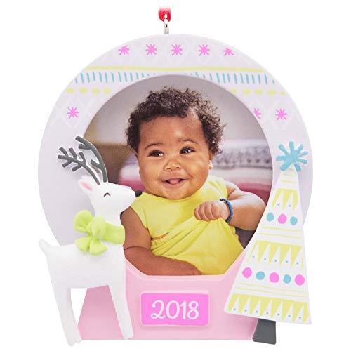 - Hallmark Sweet Deer 2018 Picture Frame Ornament Family