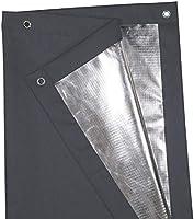 Greatime 100 Lichtundurchlässig Gardinen Mit Saugnäpfen Verdunkelungsvorhang Isolierung Für Velux Dachfenstergrau96x120cm